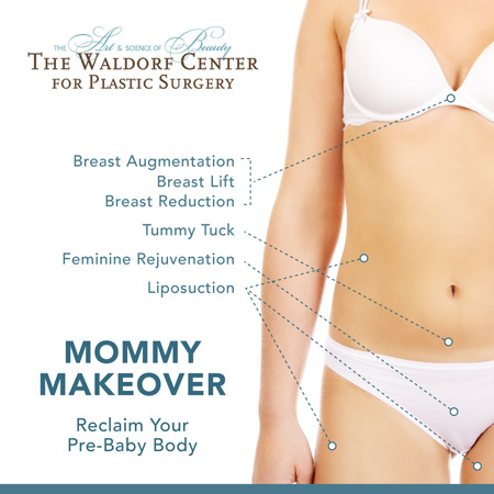 Discover the elements of a Mommy Makeover at Portland's The Waldorf Center.