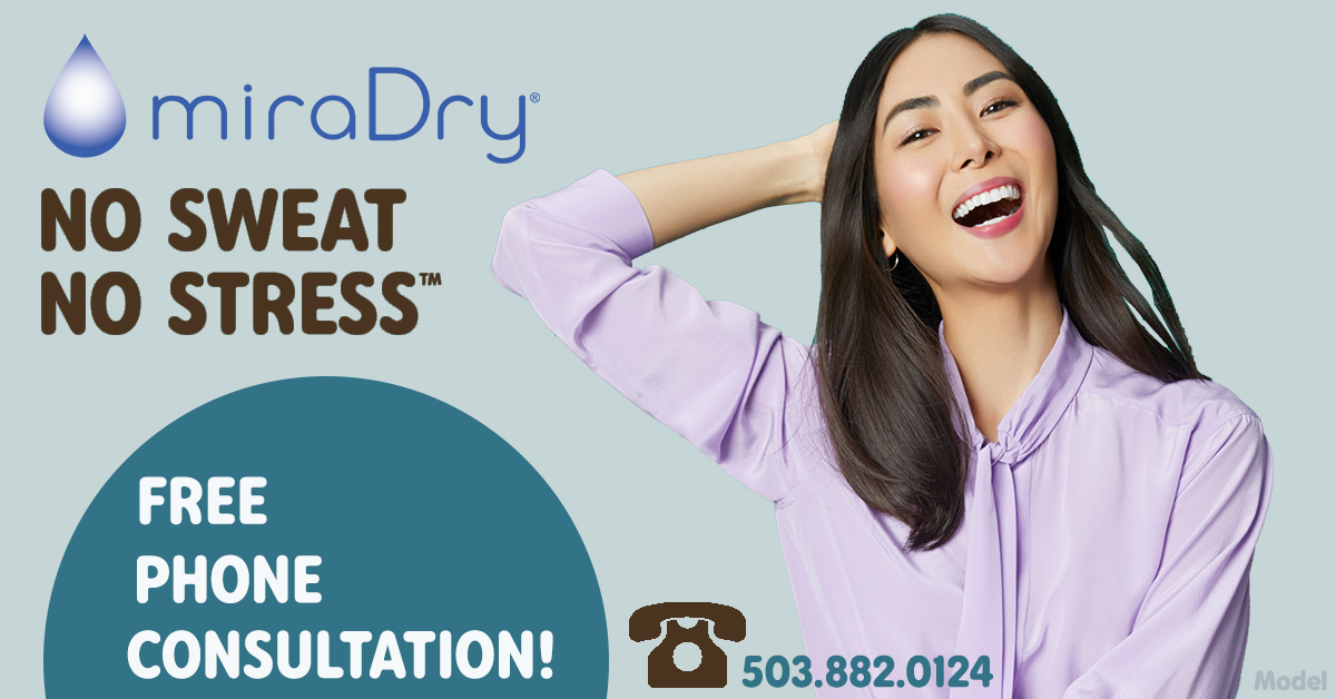 Free miraDry Phone Consult in Portland, OR